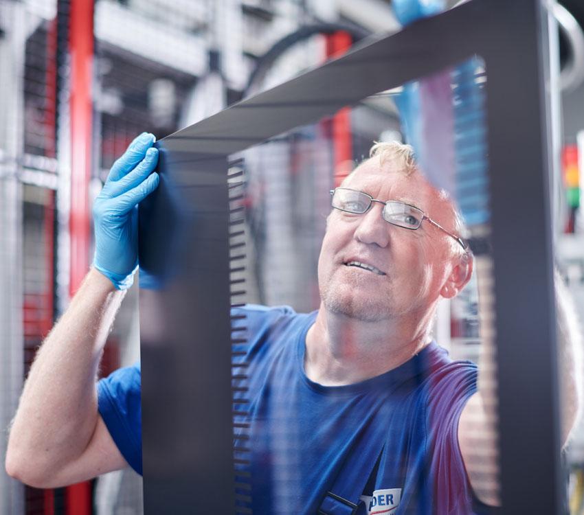 Glasverarbeitung Qualität