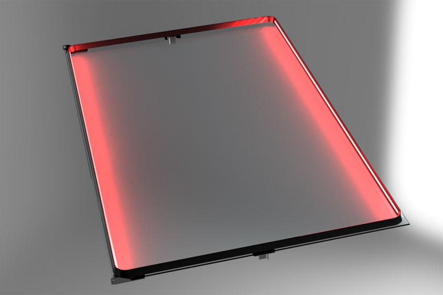 SaelShape: Leuchtmittel können direkt in die Hochtemperaturdichtung eingearbeitet werden